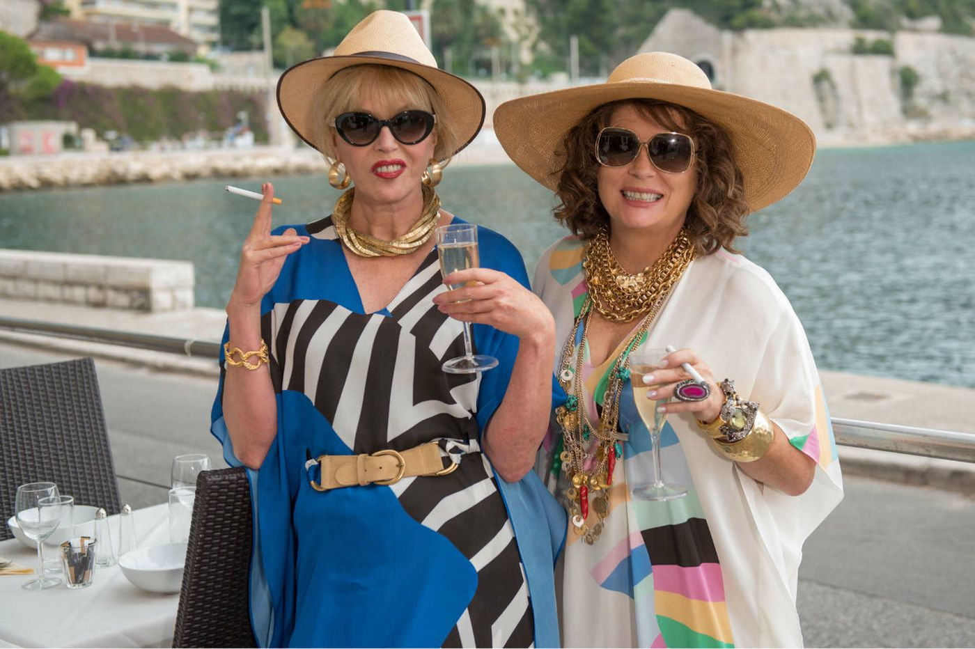 'Absolutely Fabulous: The Movie:' Patsy and Edina return, drunk as ever