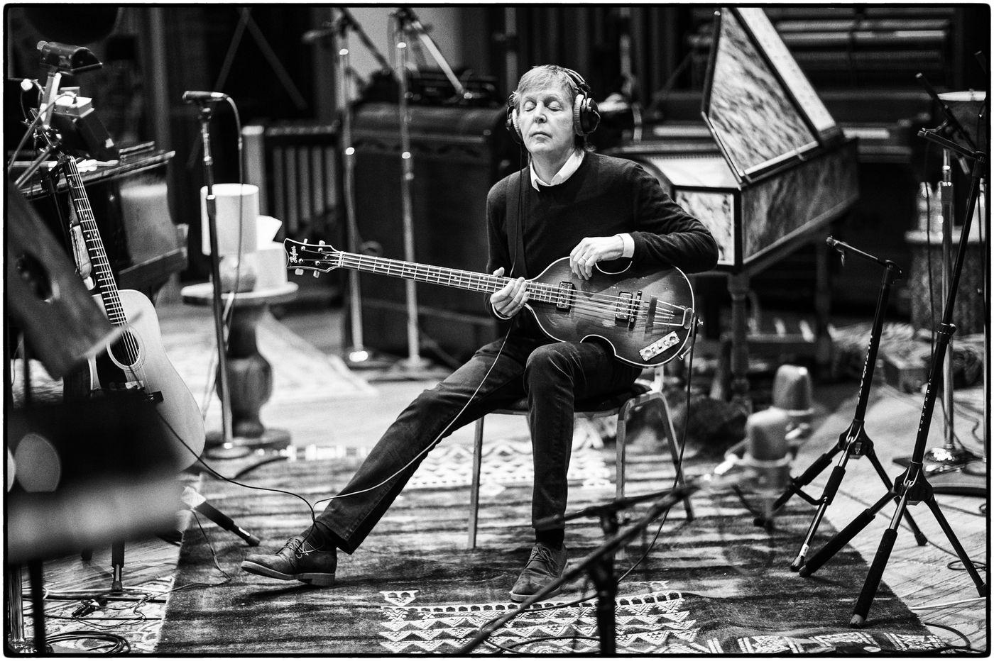 A tale of two Pauls: McCartney moves ahead, Simon looks back