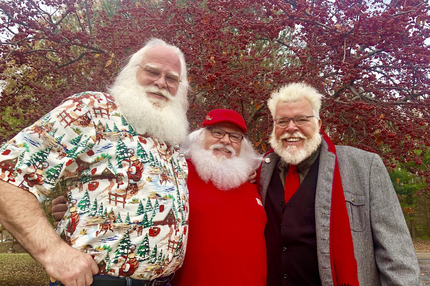 Three New Jersey Santas agree: There's more to it than red suits and a few ho-ho-hos