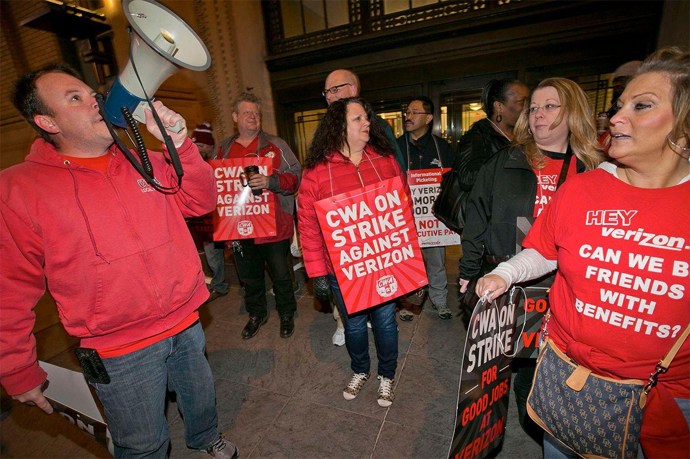 Strike will trim $200M from Verizon profits; settlement 'soon,' Wall St. analyst writes