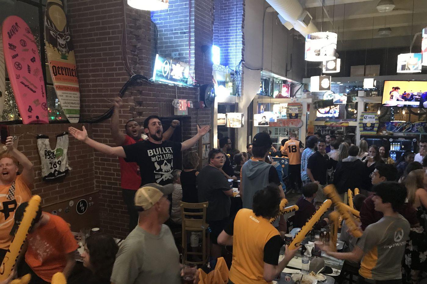 Underdog Philadelphia Fusion advance to inaugural championship of e-sports Overwatch League