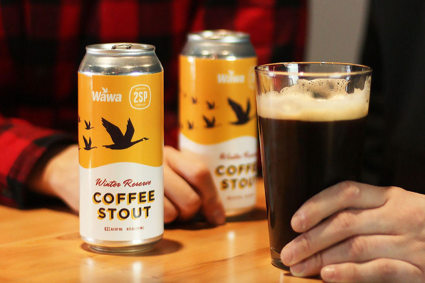 Wawa and 2SP Brewing collaborate on a coffee beer