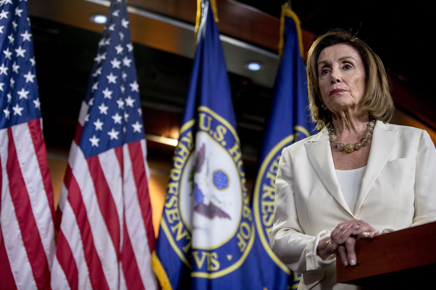 Pelosi ready for deal on borrowing limit, spending levels
