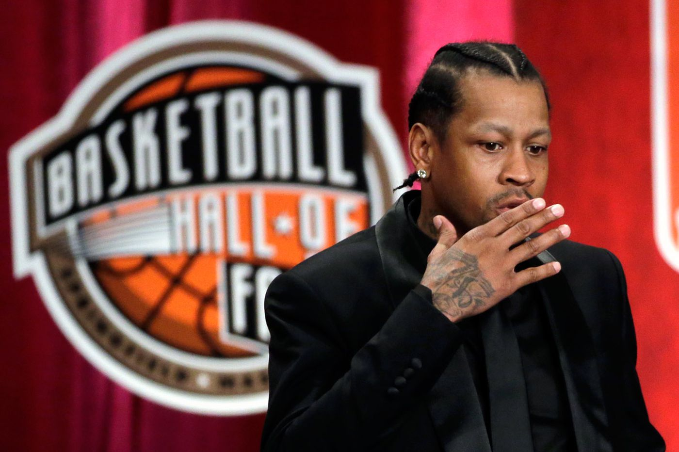 Former Sixers great Allen Iverson inducted into the Hall