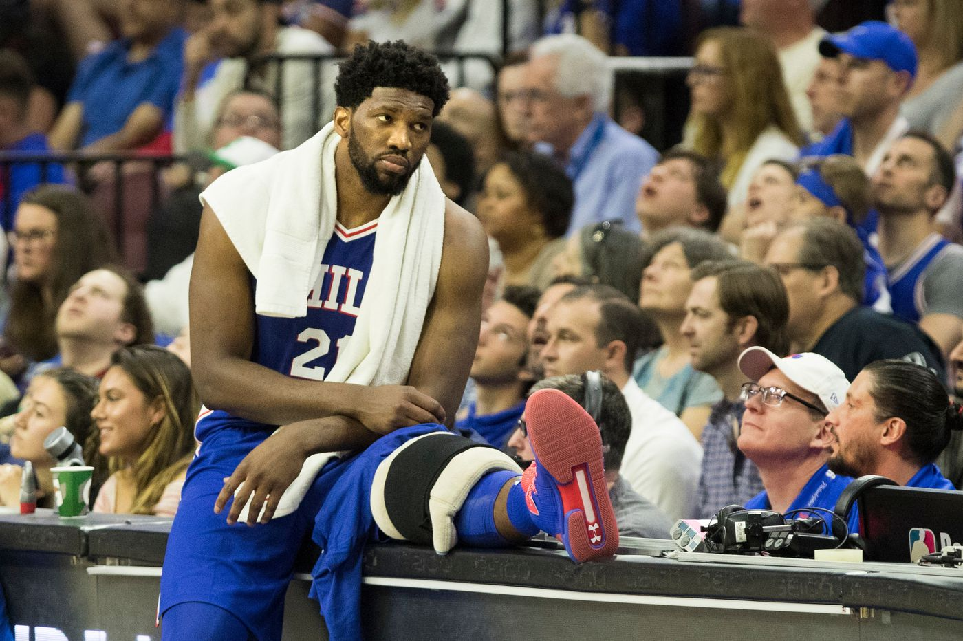 NBA playoffs: Joel Embiid and the continuing battle of wounded knee | Bob Ford