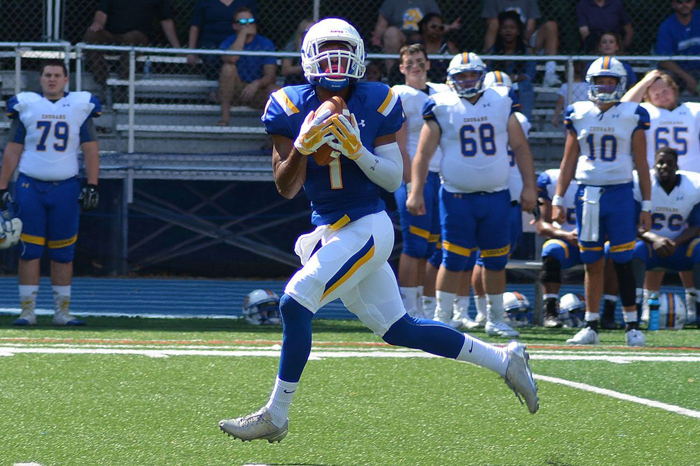 Widener's Montrell Hicks-Taylor puts safety first