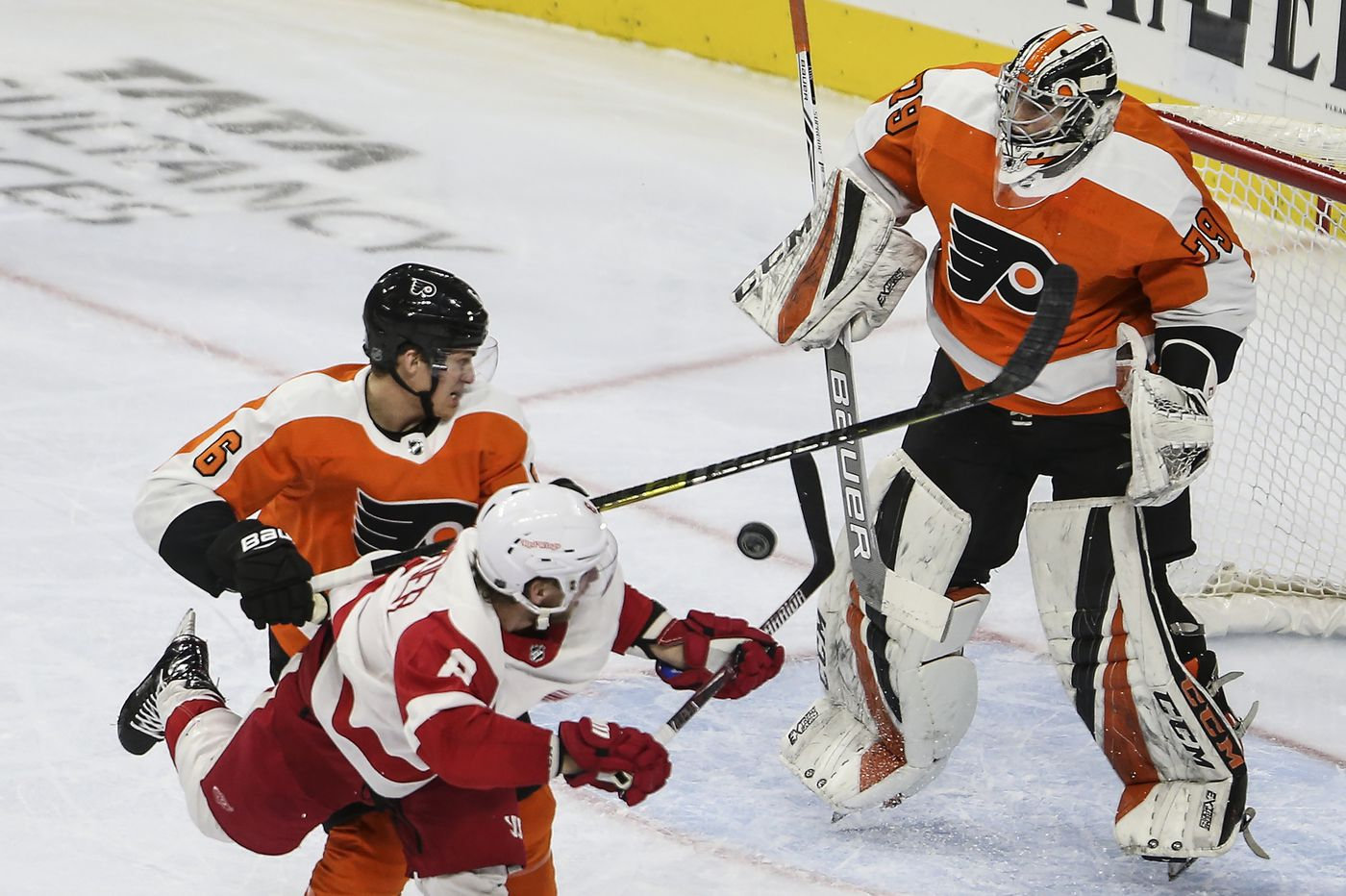 Carter Hart's solid Flyers debut gives team and fans a jolt