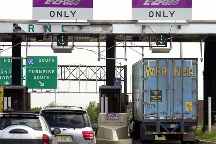 Tolls on the Pennsylvania Turnpike will increase 6 percent in 2016, effective Jan. 3.