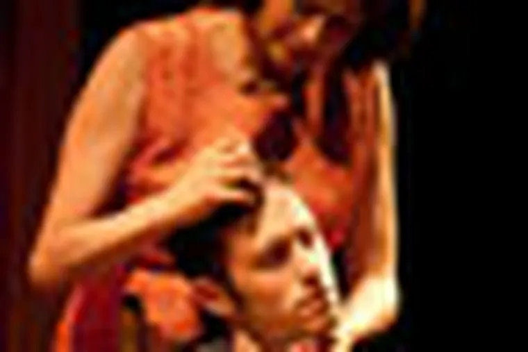 SEAGULL, by Shawn May.With Janis Dardaris as Arkadina and Jamison Foreman as Konstantin