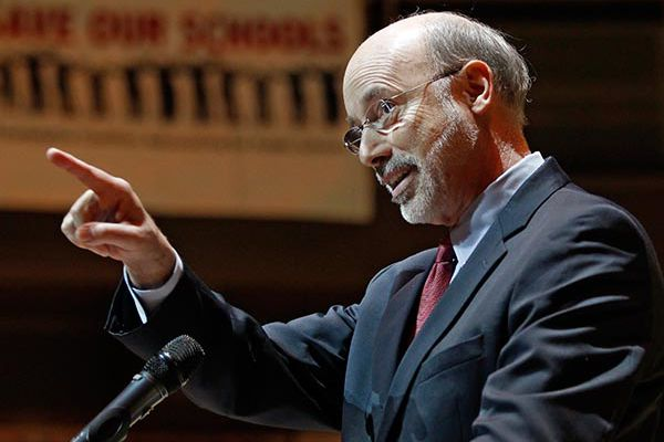 Gov. Wolf signs budget containing some items Democrats oppose