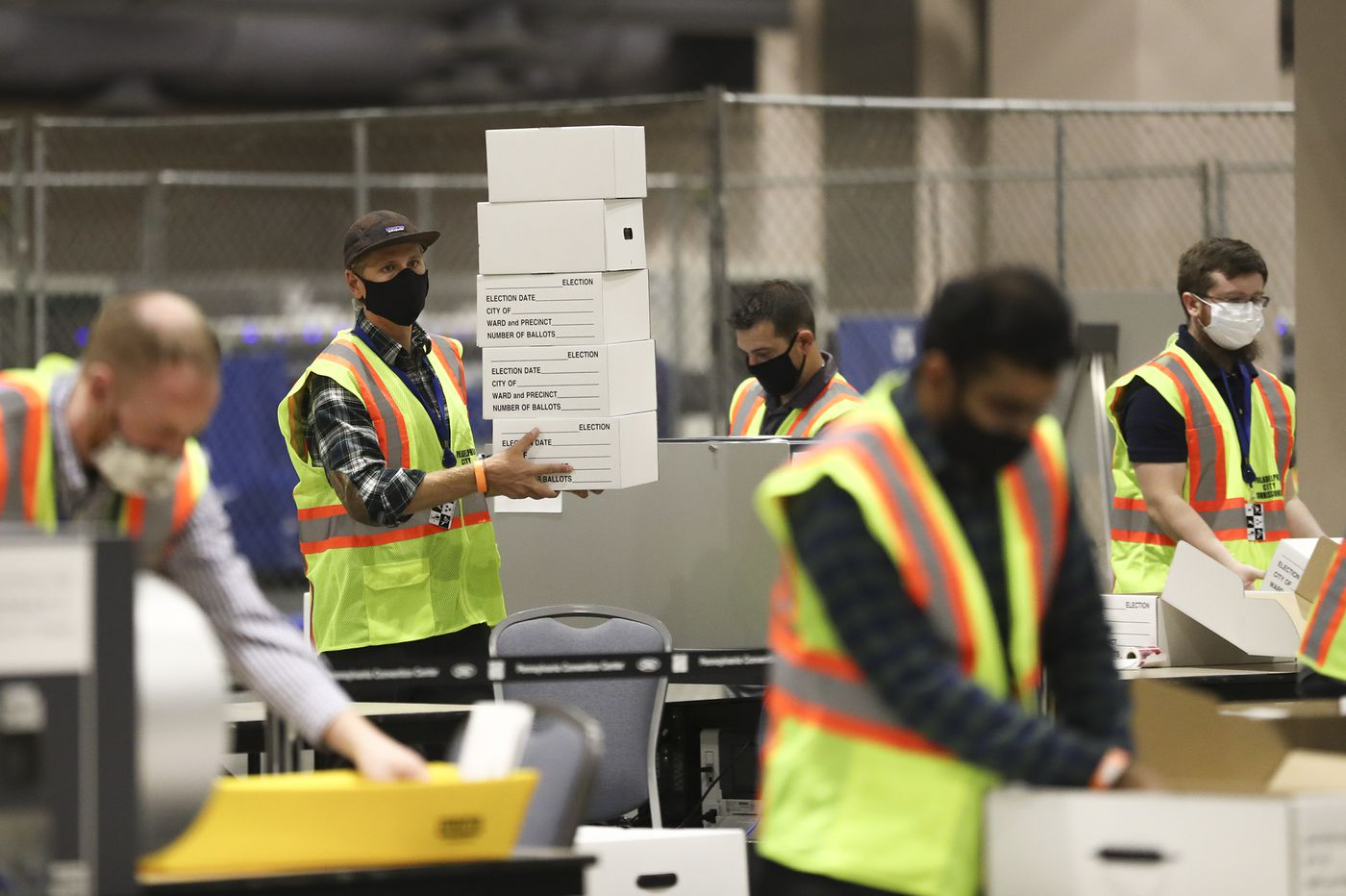 Philly is still counting mail ballots and officials say they will continue 24/7