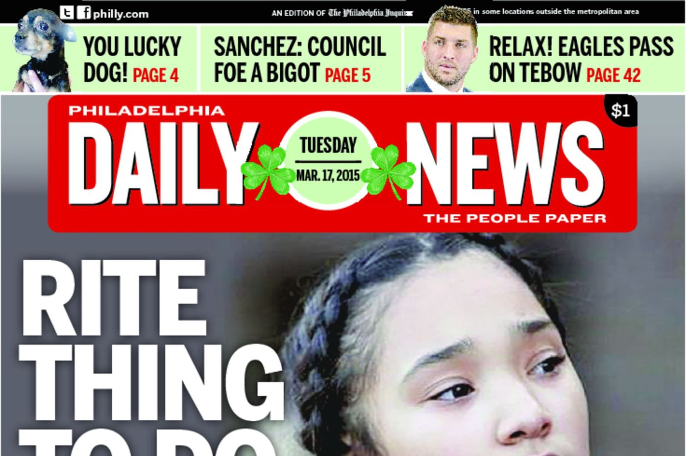 Dailynews Monthly Covers 03/17/15
