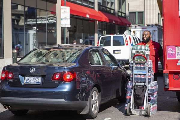 Truck traffic is clogging Center City streets. What's Philly going to do about it?