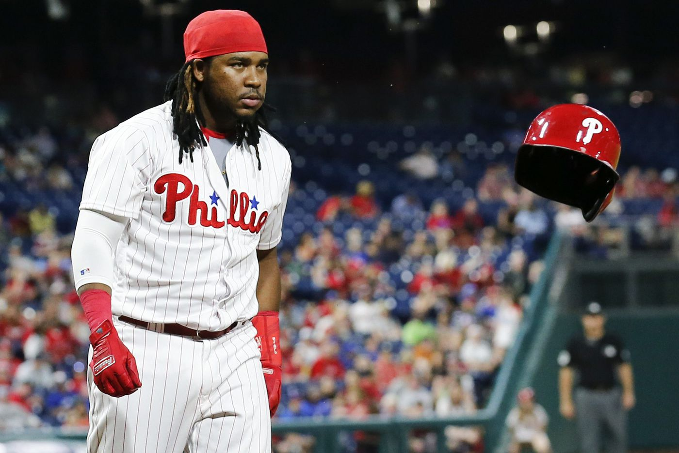 Phillies have seemed to shift Maikel Franco to a platoon role