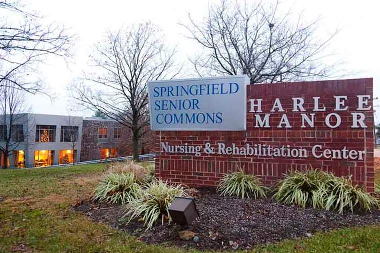 Harlee Manor, a Delaware County nursing home owned by convicted Philadelphia City Councilman Leland Beloff, was granted $1 million from the state in 2006 to add 17 assisted-living condos. However, the State's report, and other records reviewed by The Inquirer filed with Springfield Township, show the project was budgeted at $527,000, or barely half the grant total. Auditors found receipts for only $438,000 to the contractor. ( RYAN S. GREENBERG / Staff Photographer )
