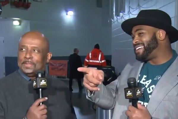 Eagles' Brandon Graham taunts Cowboys fan during live NBC Sports Philadelphia interview