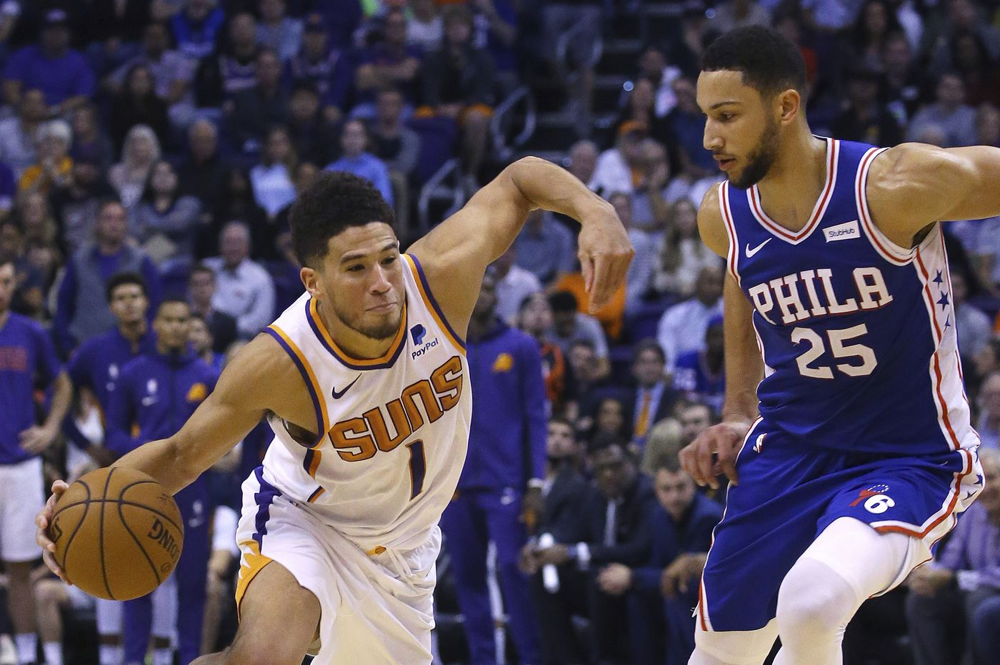 Sixers-Suns best and worst: Devin Booker's dominance, backcourt struggles, foul shooting