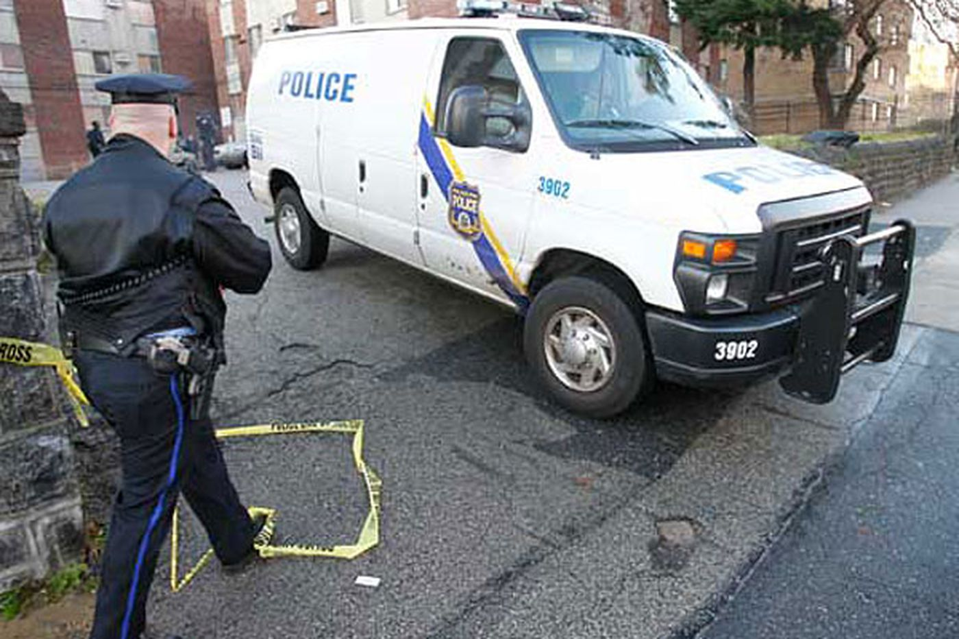 Violence continues as burned body found in N. Philly stairwell