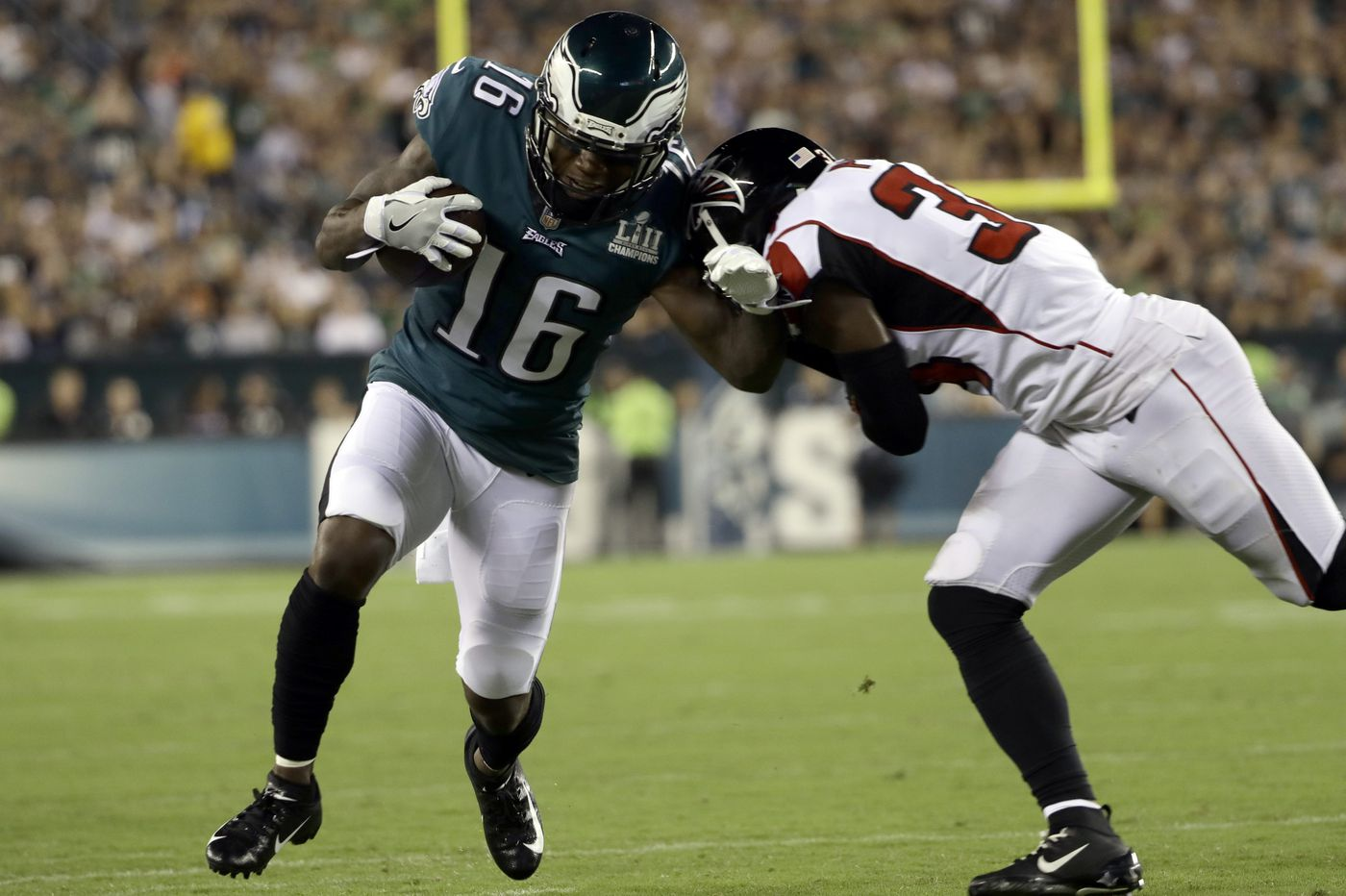 Eagles' DeAndre Carter has a catch. Now he needs to hold on. | Bob Ford