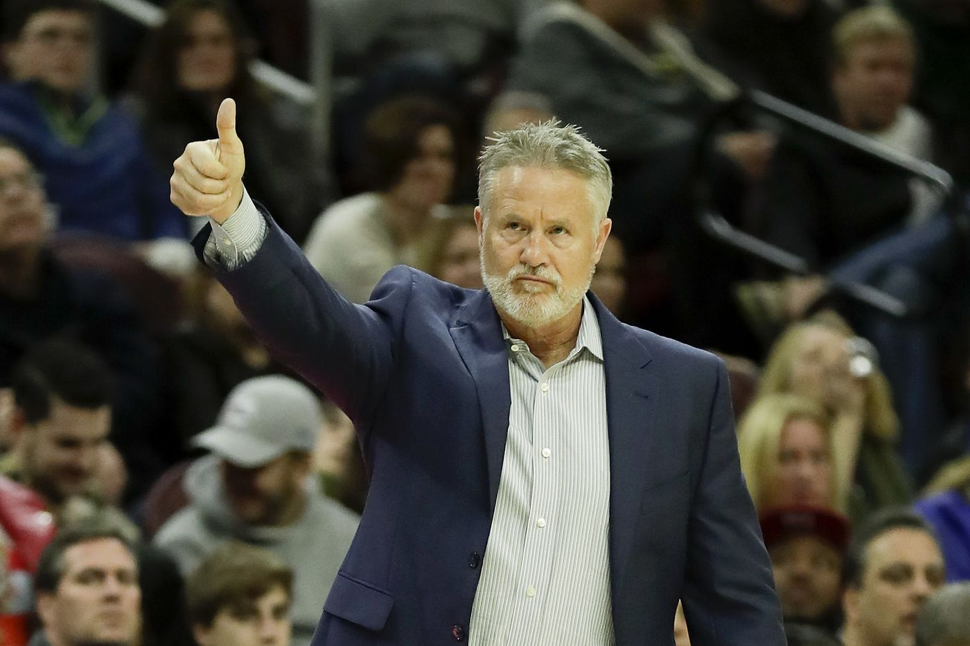 Brett Brown thinking big picture; goal is for Sixers to be 'healthy, confident' for playoffs