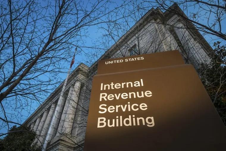 Internal Revenue Service (IRS) headquarters in Washington.