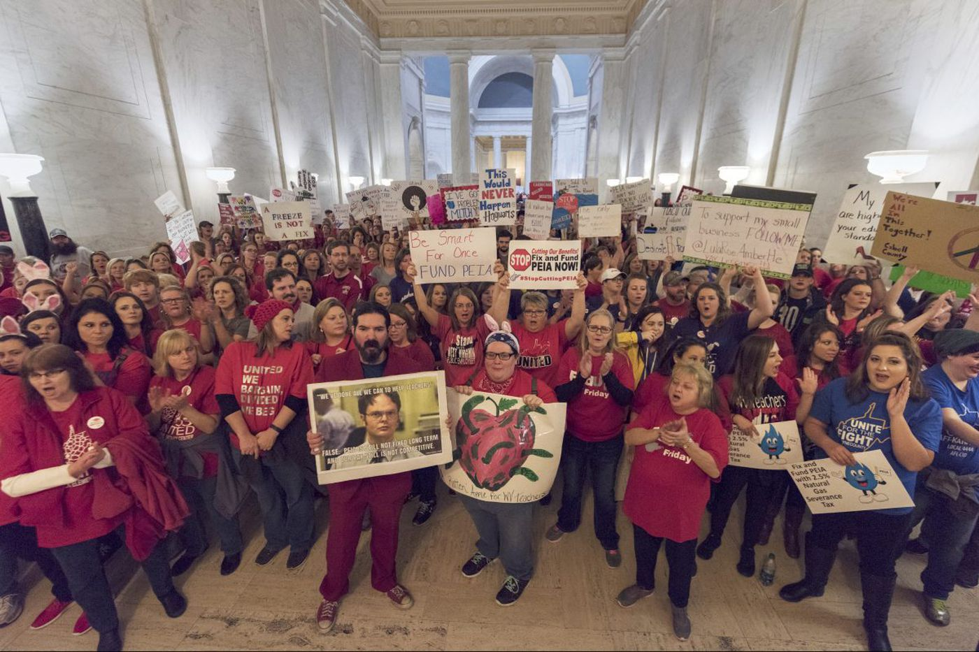 Meet the teachers demanding to be armed … with resources for kids and a living wage | Will Bunch