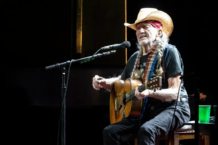 Willie Nelson & Family perform at the Outlaw Music Festival at the Mann Music Center on Sept. 11, 2021.  (These photos are not allowed to be sold, republished, or made available to wire services.)