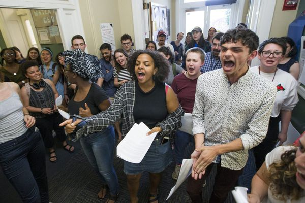 Swarthmore students rally against 'mishandling' of sexual assaults