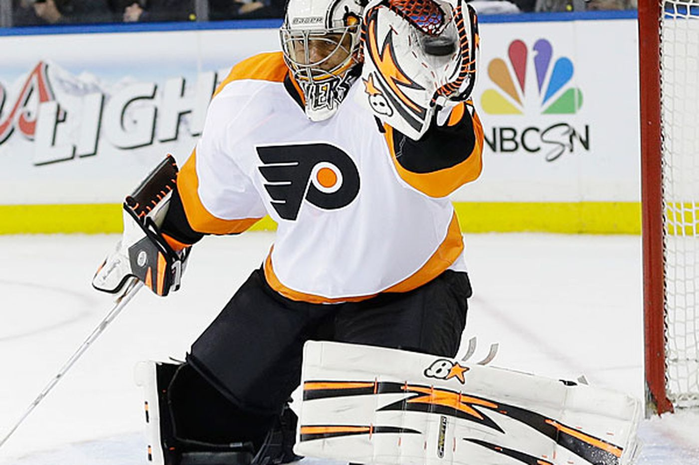 Emery's play was not why Flyers lost to the Rangers