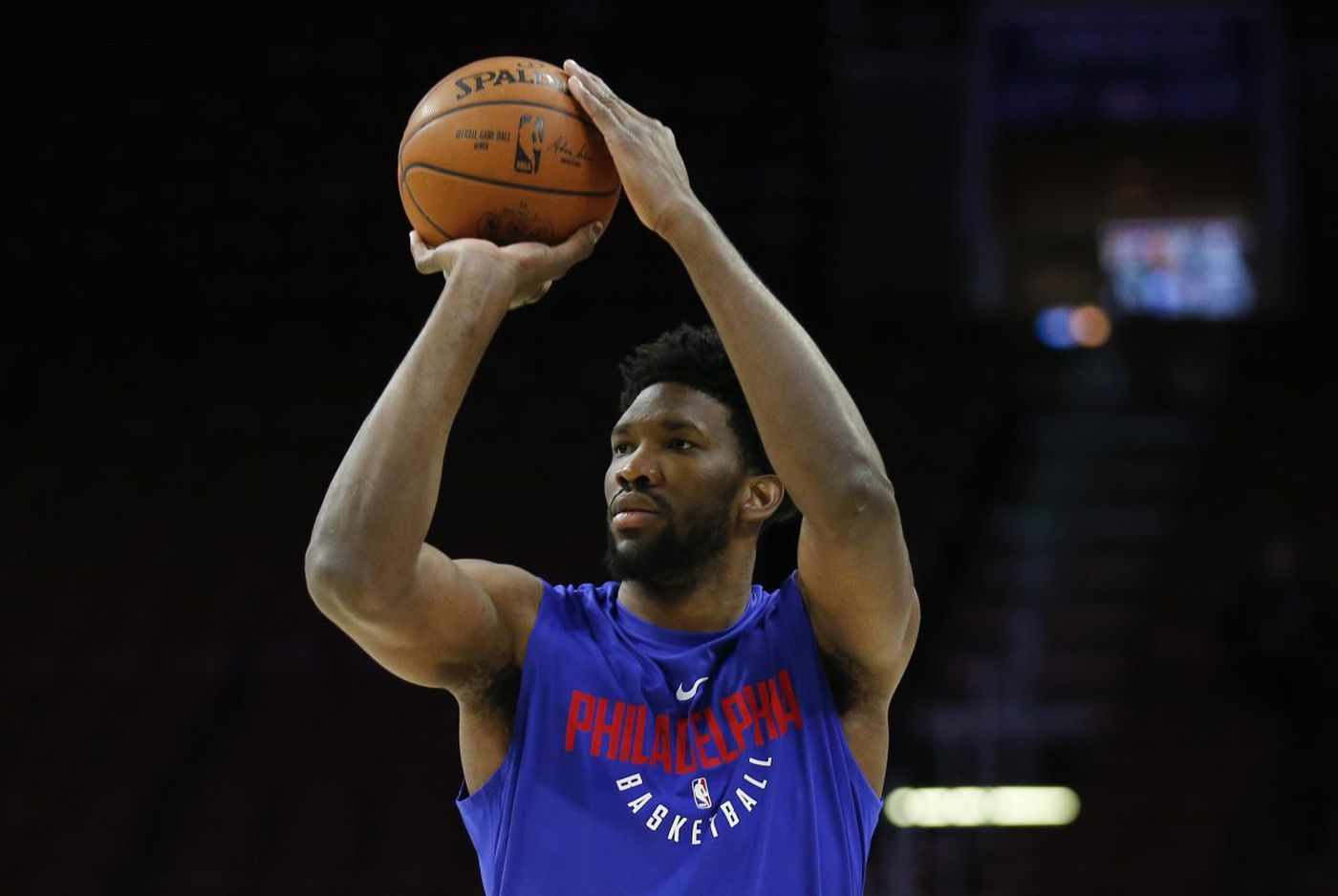 Sixers' Joel Embiid cries foul; will sit out Saturday