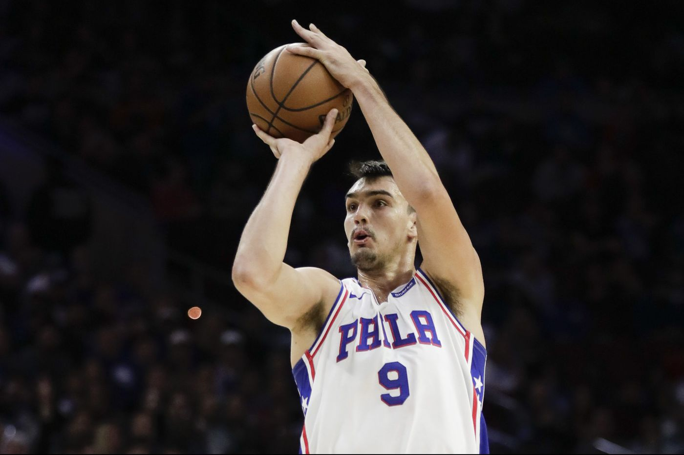 big sale baed7 29c1d Five Sixers thoughts: Dario Saric's stroke, Joel Embiid's ...
