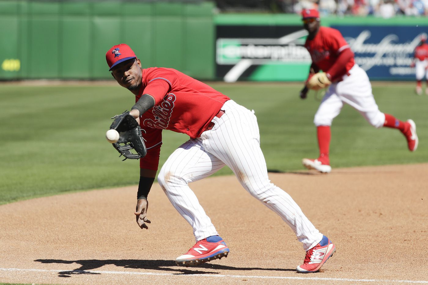 Why Jean Segura's move to third base won't be on Phillies' list of training-camp worries