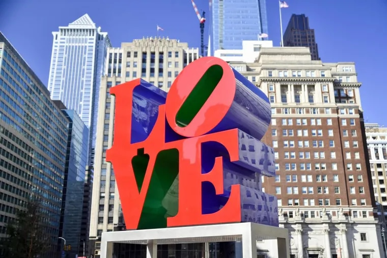 LOVE (1976) by Robert Indiana.