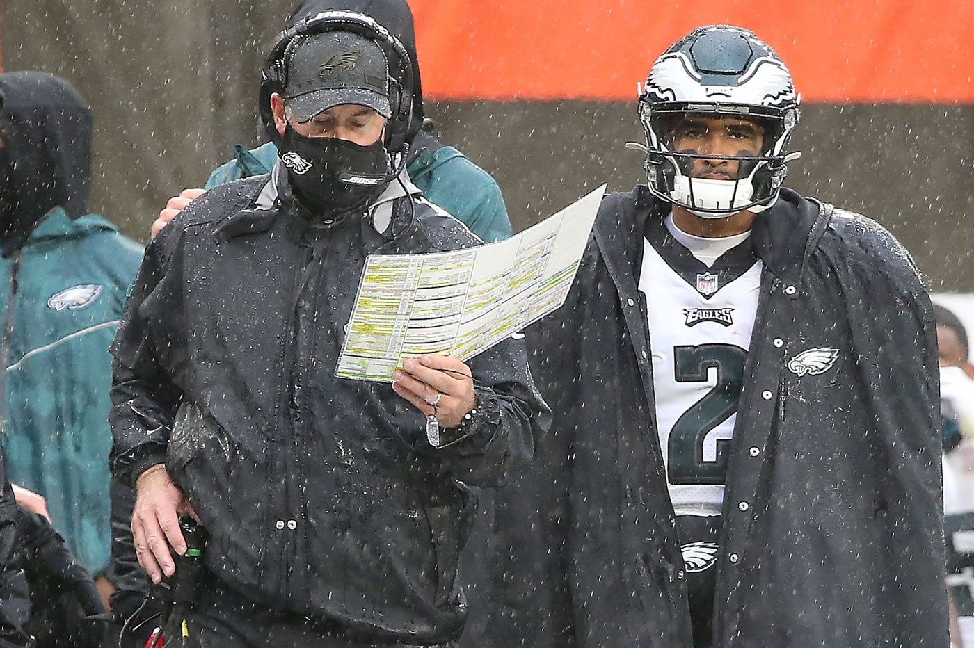 What does Jalen Hurts' usage say about Doug Pederson's relationship with Eagles' front office?   Jeff McLane