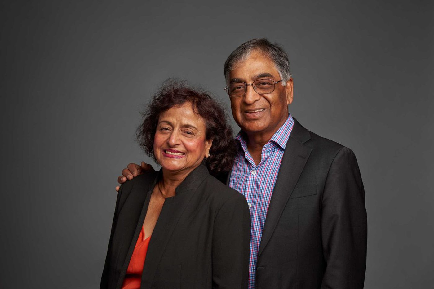 Former Rohm & Haas CEO Raj Gupta joins Haas family on a $5M gift to create new Drexel institute