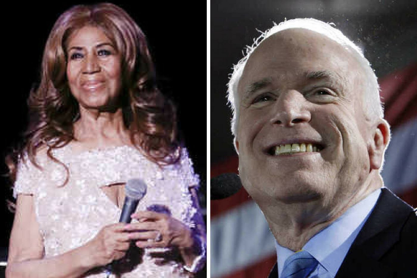Aretha Franklin and John McCain: American icons whose footsteps we should follow | Solomon Jones