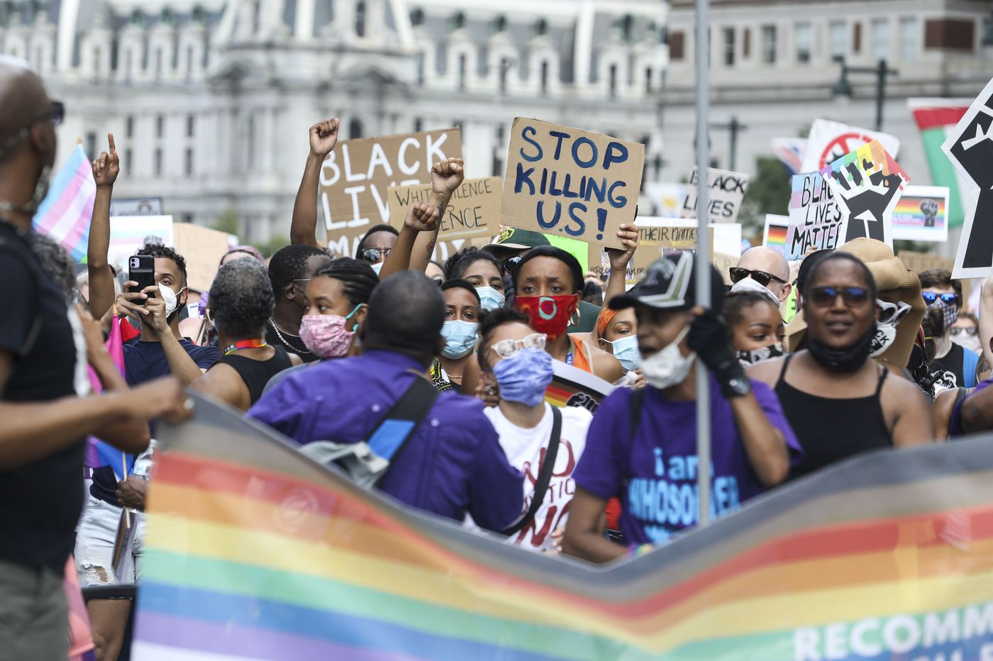 Black trans communities suffer a greater mental-health burden from discrimination and violence
