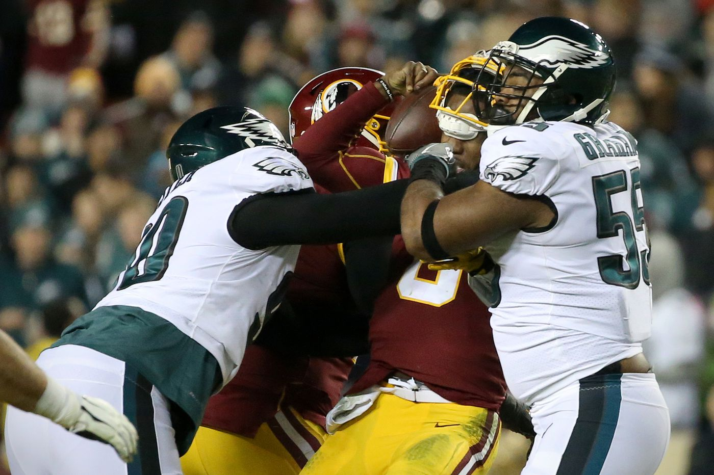 Sports betting: Week 1 NFL lines are out, and the Eagles are solid favorites over the Redskins