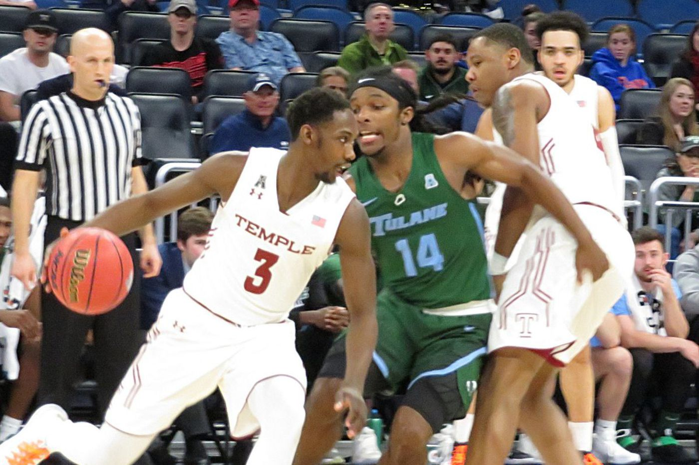 Temple survives late scare to beat Tulane in American Athletic Conference tournament