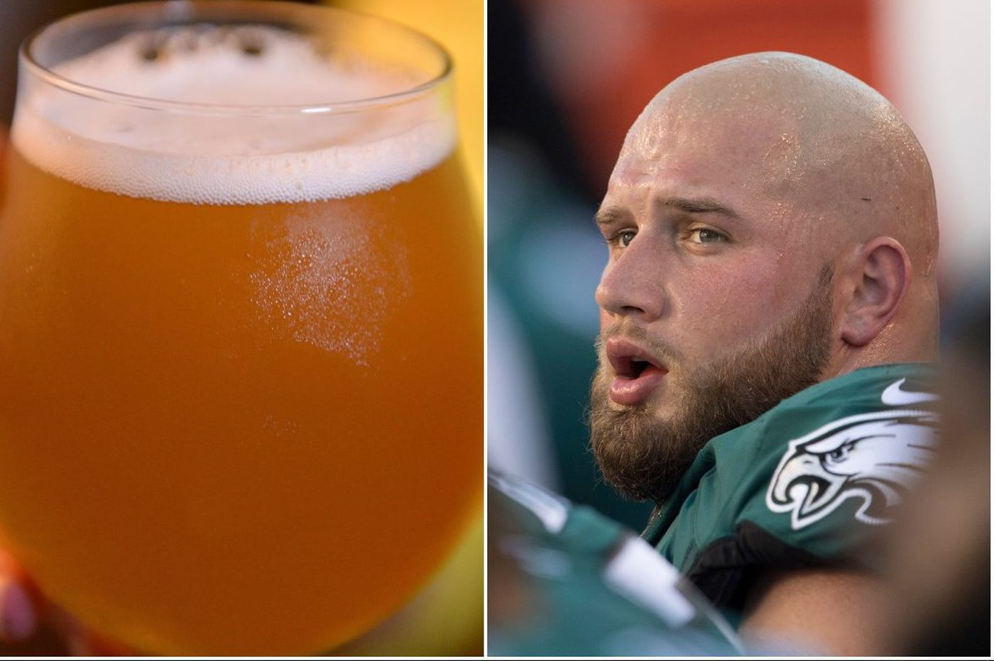 'Beer to everybody,' Eagles player promises, if Birds win Super Bowl