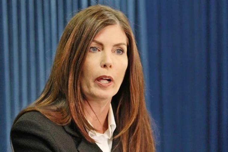 Pennsylvania Attorney General Kathleen Kane in March 2014.  ( MICHAEL BRYANT / Staff Photographer )