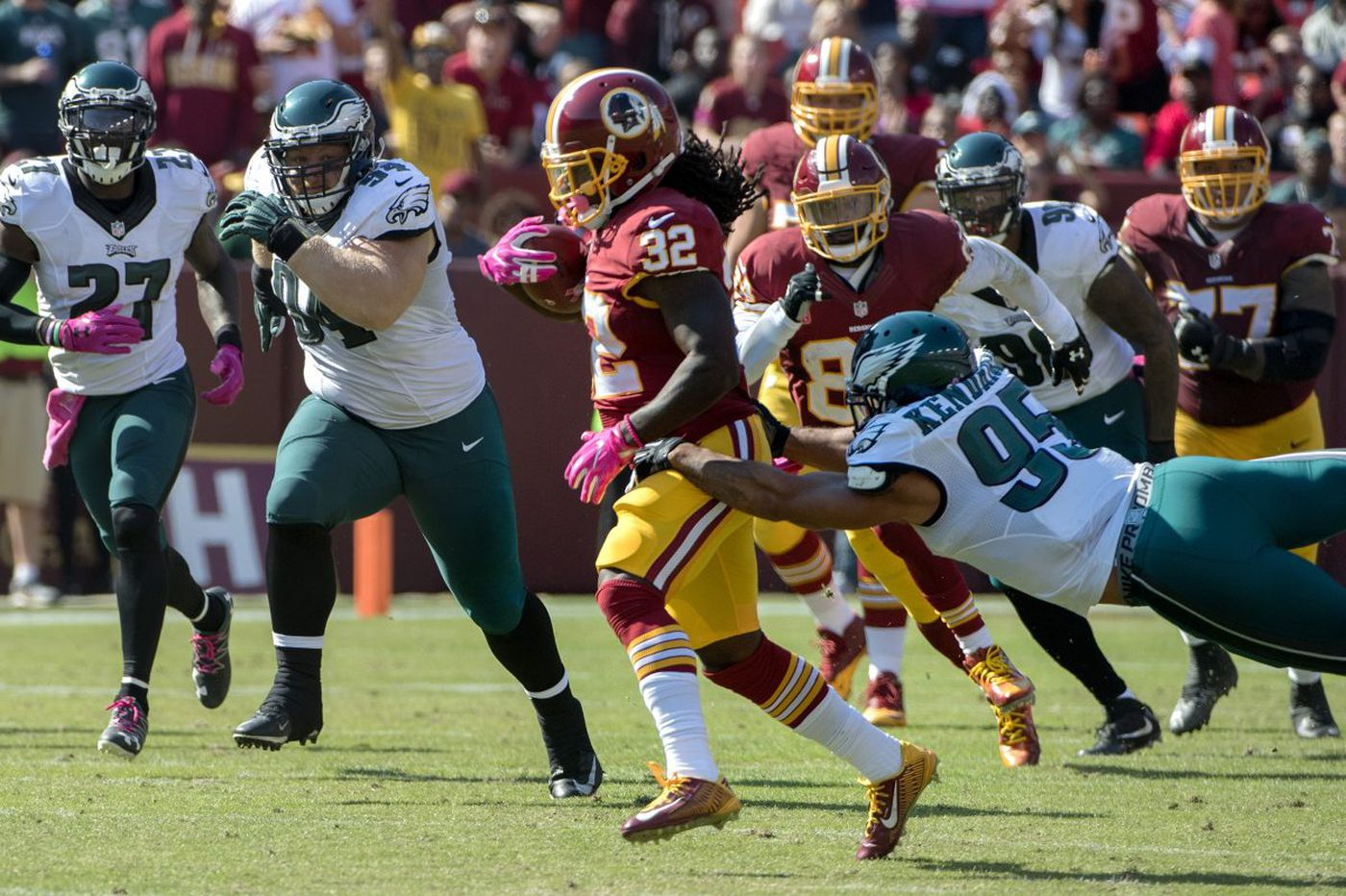 Scouting report: Eagles vs. Redskins