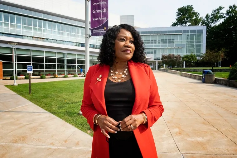 """""""We have to look at our internal processes and procedures to find out if there are barriers to students' success and what those look like,"""" said L. Joy Gates Black, president of Delaware County Community College."""
