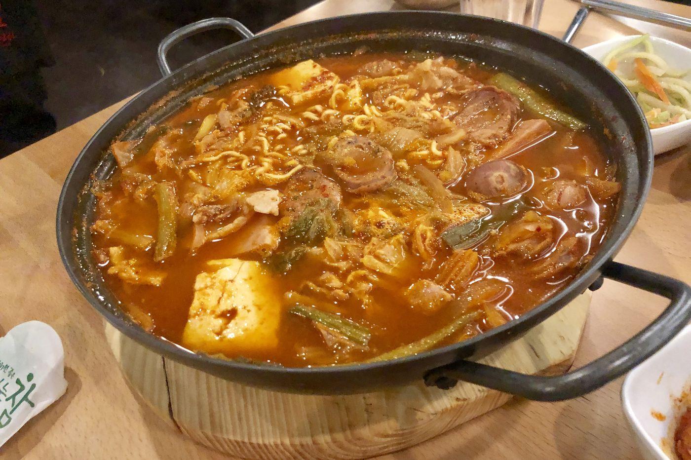 Army Stew, the original Korean American fusion dish