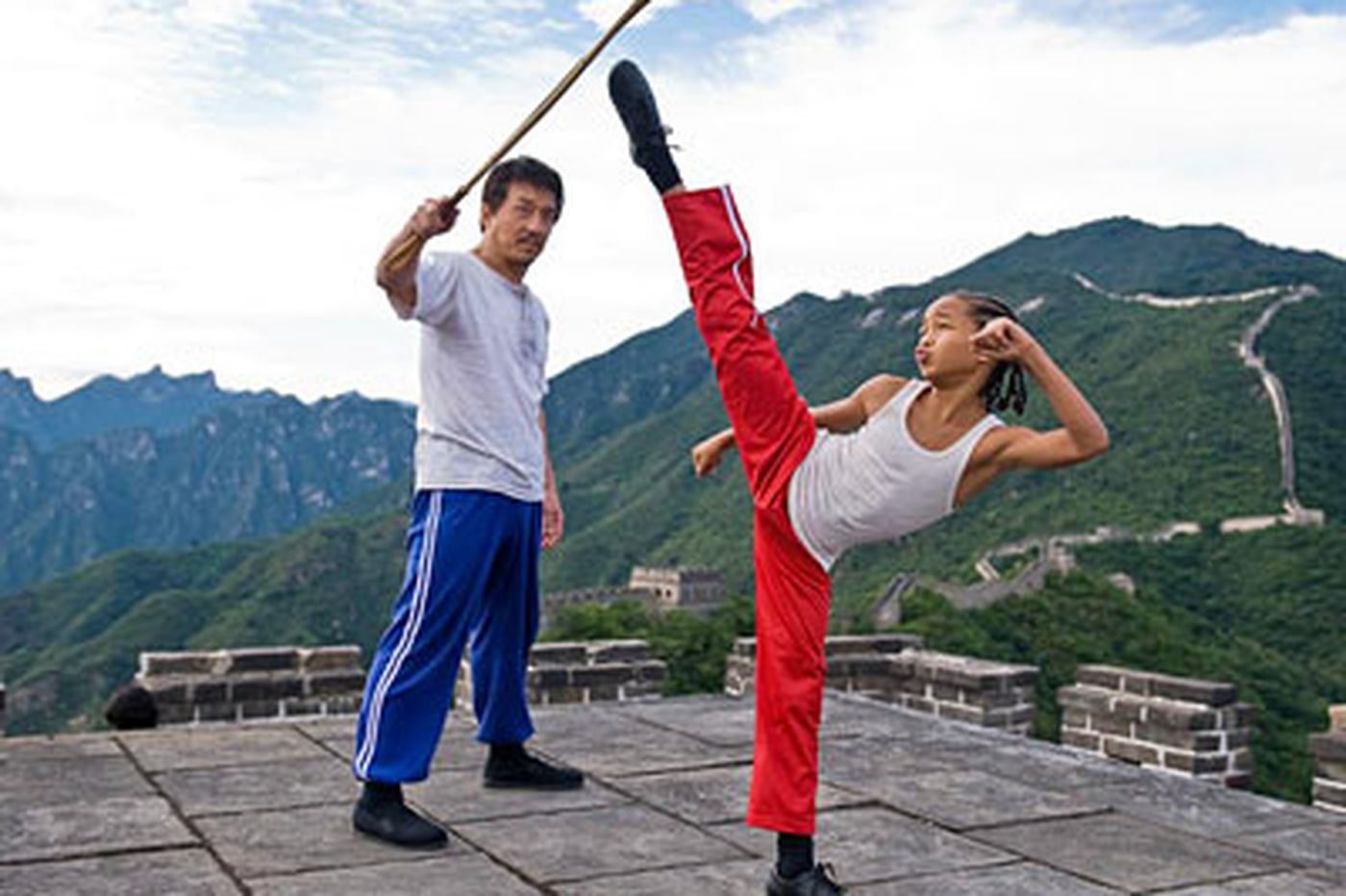 Back in action: Jackie Chan and Jaden Smith revive classic 'Karate Kid'