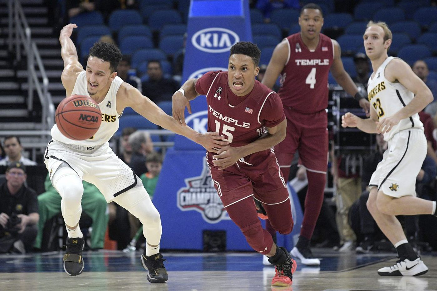 Temple outpaced by Wichita State's Landry Shamet, loses in conference quarterfinal