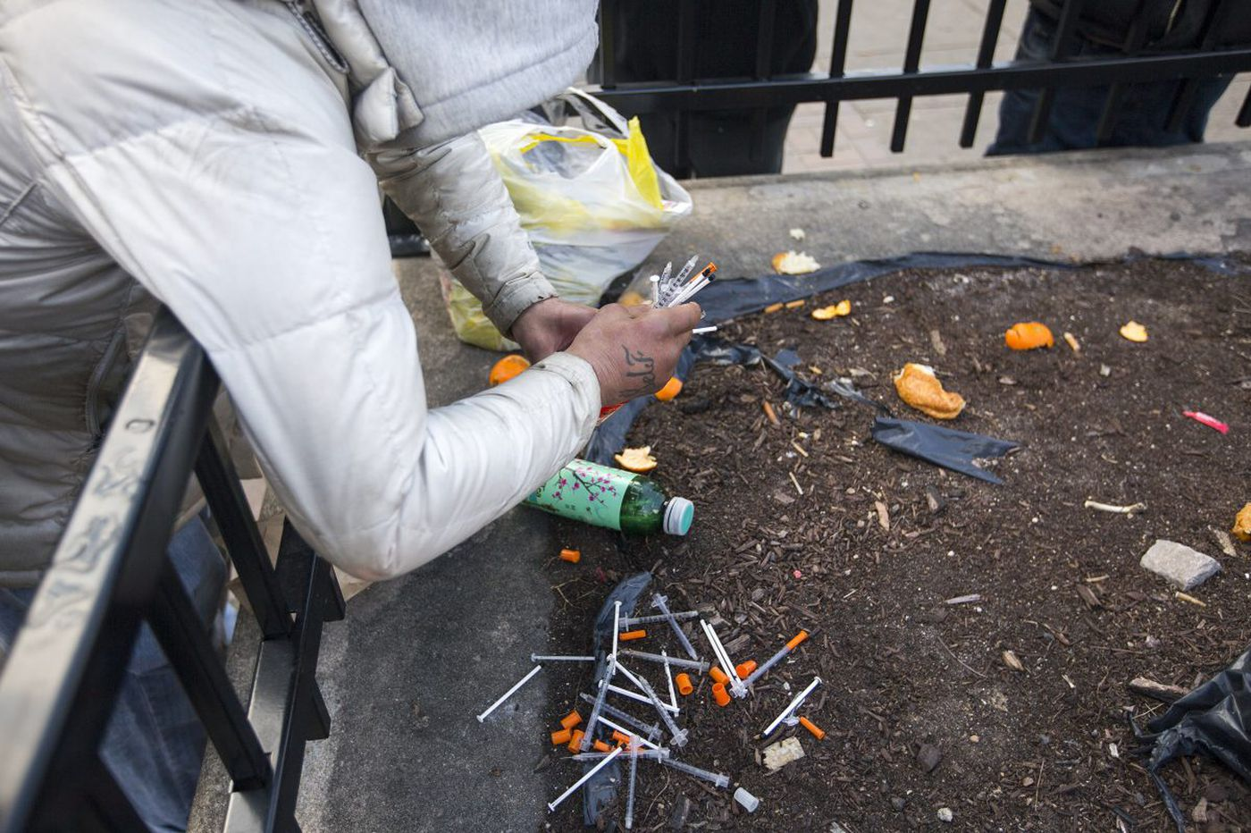 It's ludicrous that Camden doesn't have a needle exchange   Mike Newall