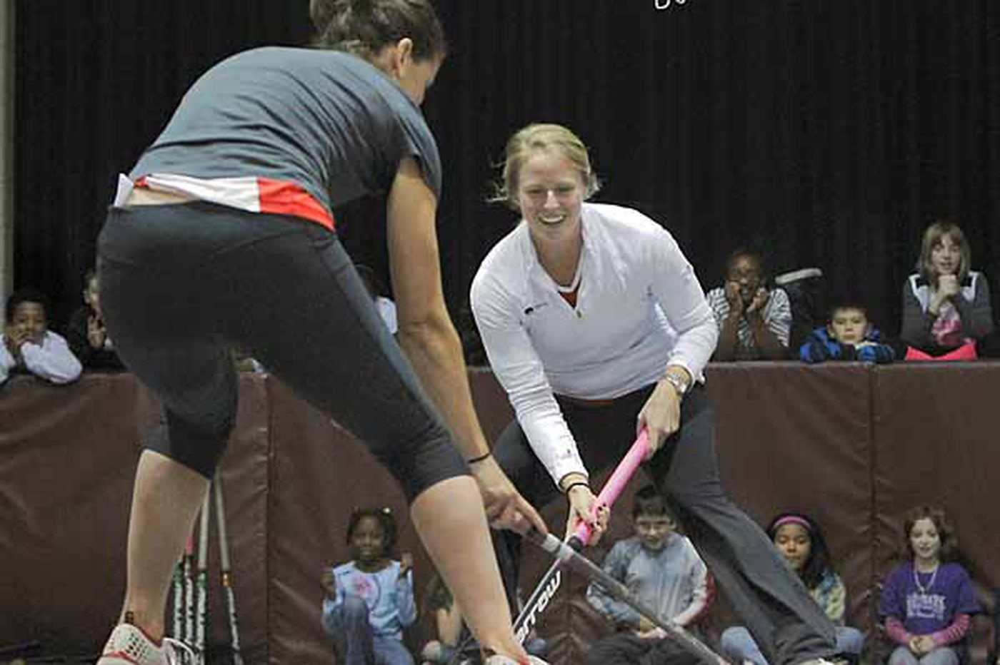 An Olympian from Berlin Township helps bring field hockey to the masses