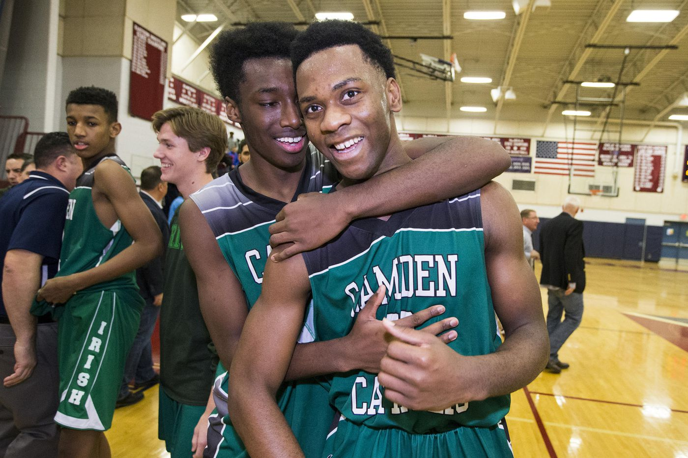 Camden Catholic's Baba Ajike, Uche Okafor to take court together for last time