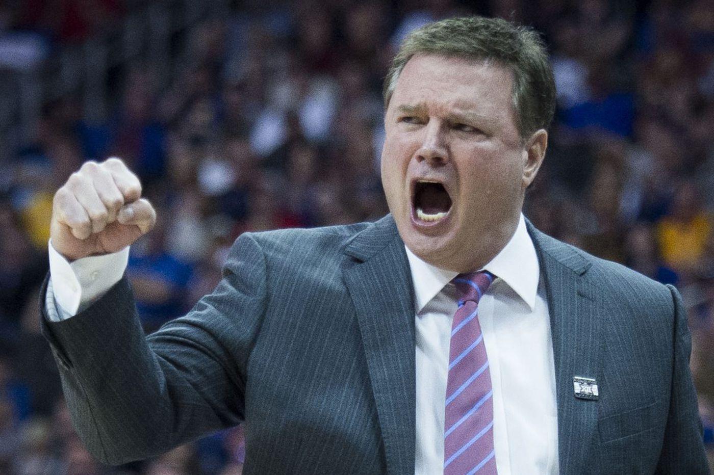 Kansas coach on Penn: 'They can beat us.'